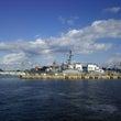 横須賀の米海軍基地で