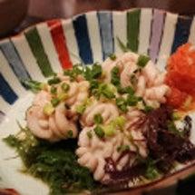 北海道の海鮮モノを味…
