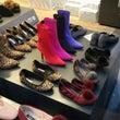 靴卸売市場で最後の日…