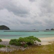 【阿嘉島1日目】曇っ…