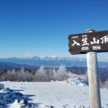 入笠山と船窪小屋忘年…