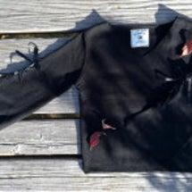 編み上げ袖プルオーバ…