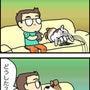 ★4コマ漫画「用事」