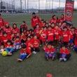 サッカー教室〜!!