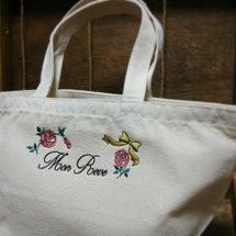 トートバッグ刺繍