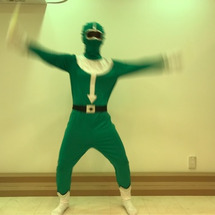 戦隊レンジャー 緑