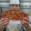 オレンジ色の魚❕