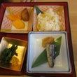 秋御膳を食べました