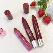 ぶどう色に、カシス色、ベリー色まで?今年も大人気のレブロン果実系クレヨンリップ3本を比較♡