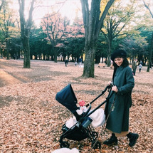 家族で公園へ。。