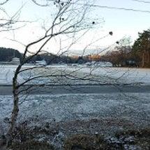 初雪はあっという間に…