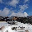 初雪の大台ケ原へ撮影…