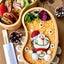 《キャラ弁》そぼろと炒り卵で♡ドラえもんのクリスマスのお弁当