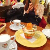 可愛いカフェで