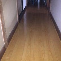 ぶかぶかの床の張替え…