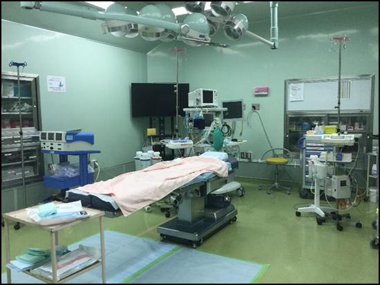 手術室(オペ室)・中央材料室です♪