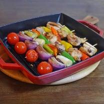 ストウブグリルで カラフル野菜のヘルシー焼き鳥の記事に添付されている画像