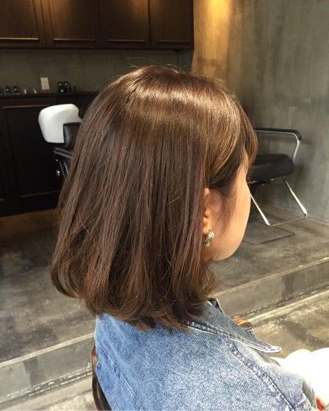 耳かけボブ 札幌 大通 美容室 Rowllyローリー 美容師 Nanao