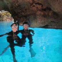 久々の青の洞窟はキレ…