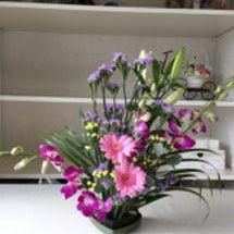 久しぶりの花セラピー