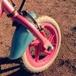 小さな車輪で小さな一…
