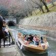 琵琶湖疏水の観光船、…