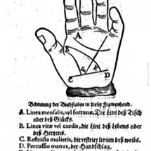 中世の手相本から見る…