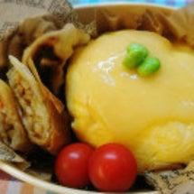 天津飯のお弁当