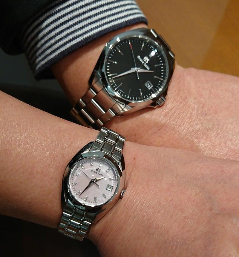 competitive price 37030 e5bbb 銀婚式のお祝いにグランドセイコーを。 | プリベ石川 時計ブログ
