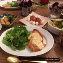 今日の夕飯です!!!
