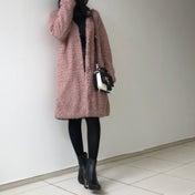全身トータル1万円♡ボアジャケットで冬のトレンドコーデ♡