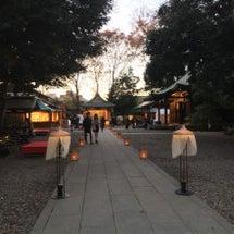 川越氷川神社に行って…