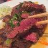 昼ごはんin西新宿五丁目『たくあん・牡丹亭/サービスステーキ定食』の画像