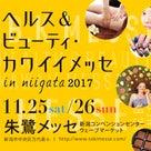 【イベント出店】11/25・26「ヘルス&ビューティ・カワイイメッセ」♡の記事より