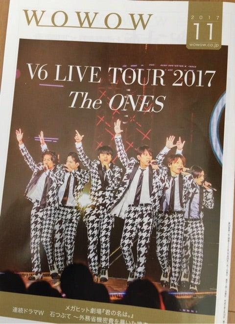 いよいよWOWOW放送!LIVE TOUR 2017 The ONES | V6の世界に浸る日々~6人のキセキ~