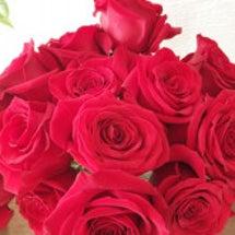 バラの花飾りました。…