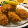 昼ごはんin新宿『お食事のお店 さつき/広島産カキフライ』の画像