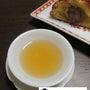 英徳紅茶とお手製の栗…