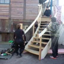 R階段の製作全工程を…