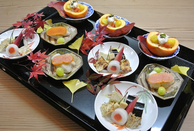 祇園いわさ起 前菜盛り合わせ2