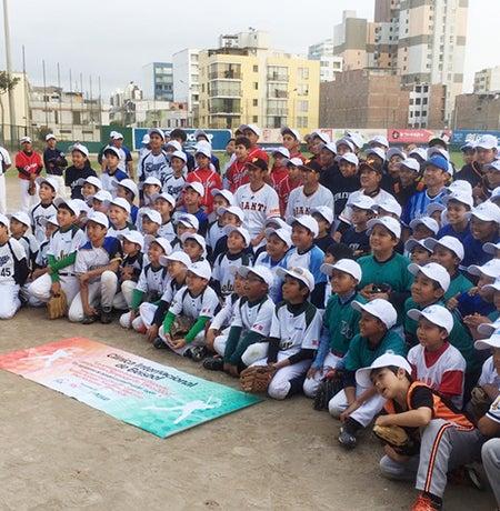 野球教室参加者