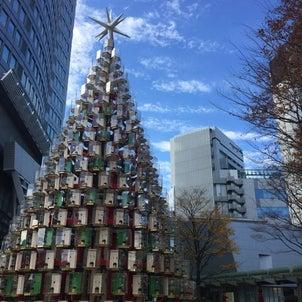 クリスマスムードの街の画像