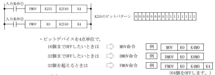シーケンサ 命令 inc