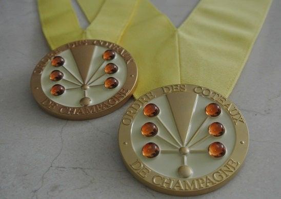 シャンパーニュ騎士団 名誉オフィシエメダル