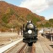 蒸気機関車・黄葉・美…