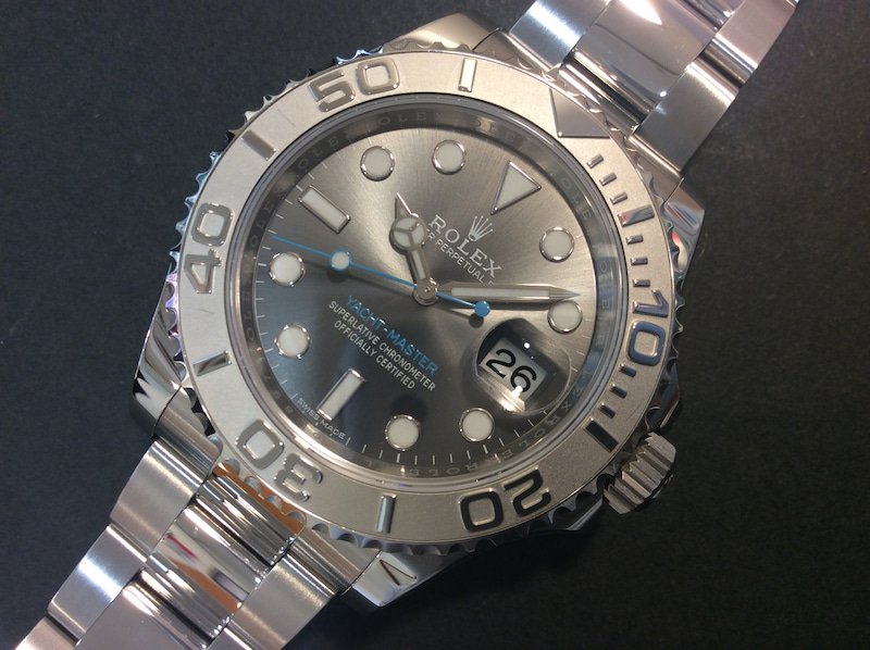 big sale 4e920 1564f ロレックス 116622 ヨットマスター ダークロジウム のご案内 ...