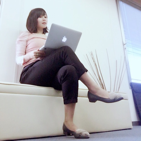長崎真由子の私服画像