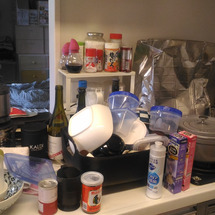 老前整理:キッチン