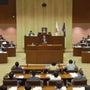 本年最後の議会開会