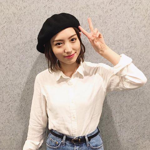 太田夢莉のベレー帽画像